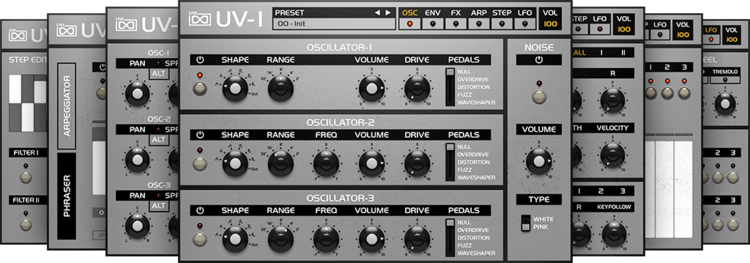 Review - UVI OB Legacy Synth Library Instrument - Includes Six