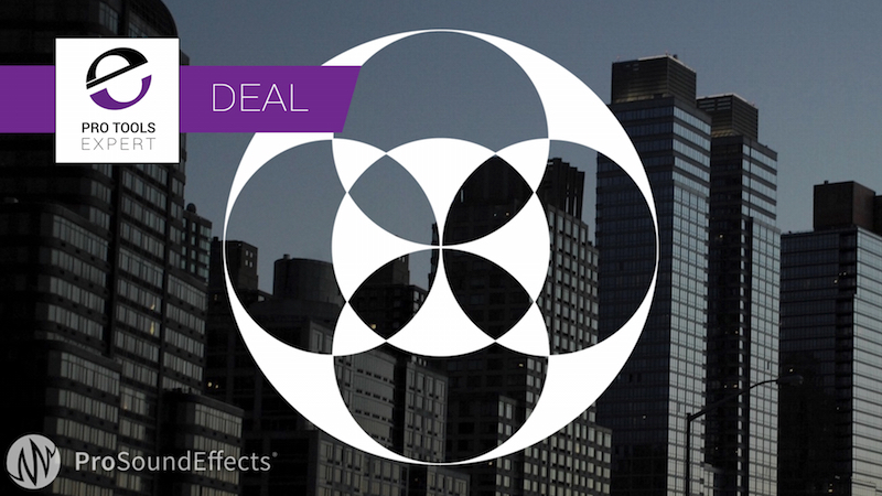 Exclusive Pro Tools Expert Deal On Pro Sound Effects Ambisonics Bundle