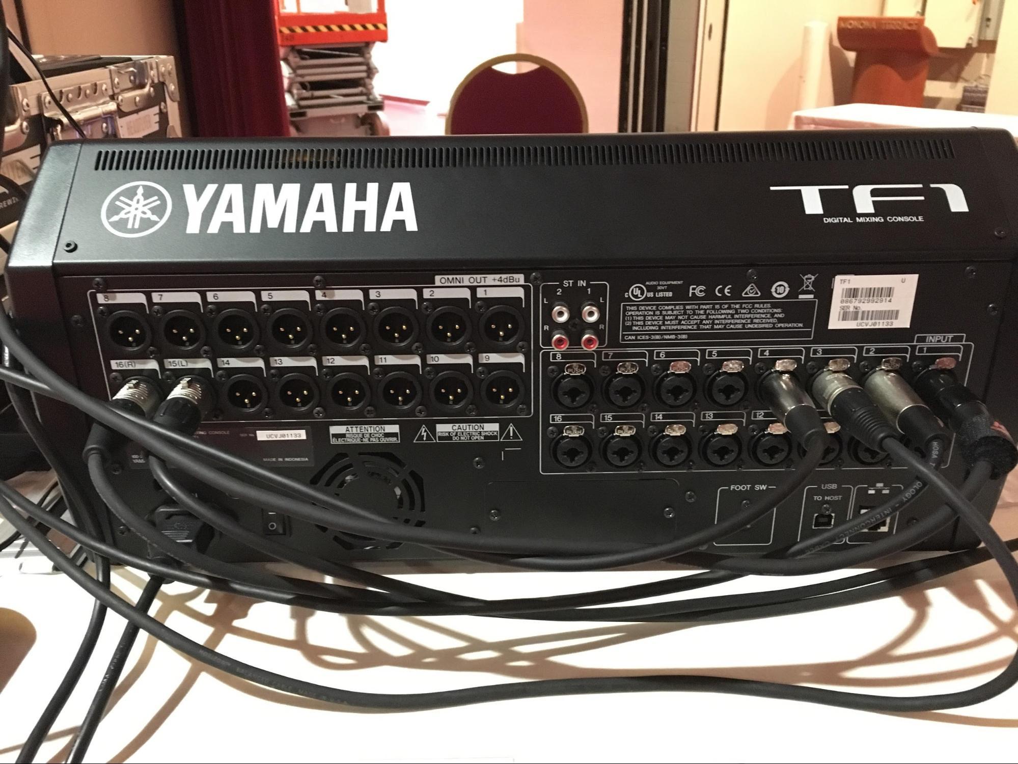 Review Yamaha TF1 Digital Mixer back inputs outputs.jpg