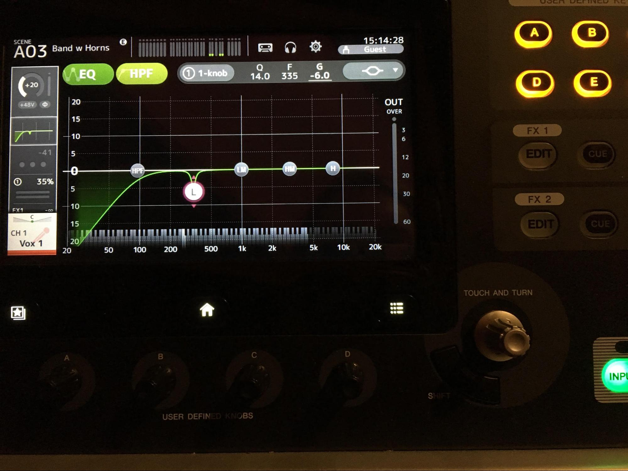 Review Yamaha TF1 Digital Mixer EQ section.jpg
