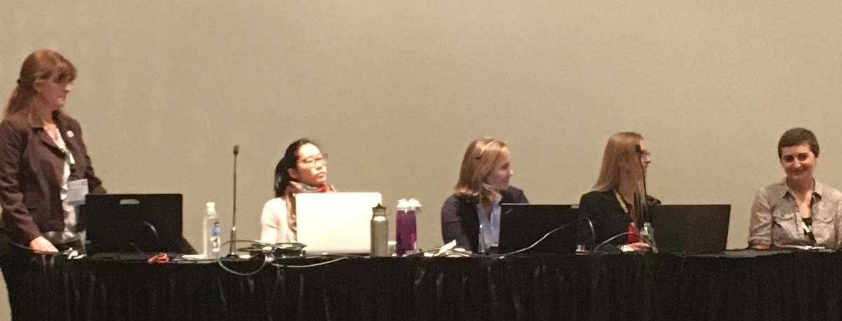 All female panel at AES 2017 convention