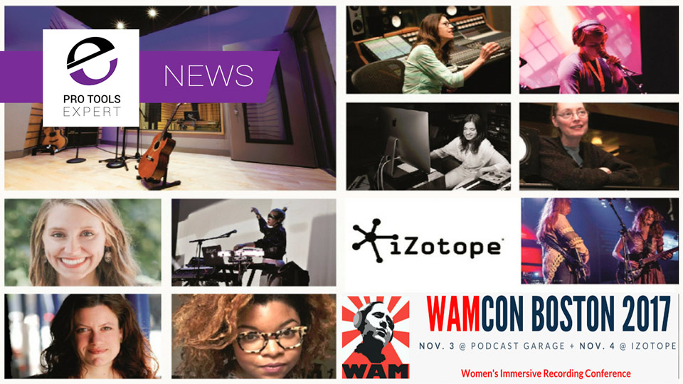 Event - WAMCON Women's Immersive Recording Conference In Boston