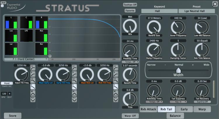 Exponential Audio Stratus Reverb Plug-n