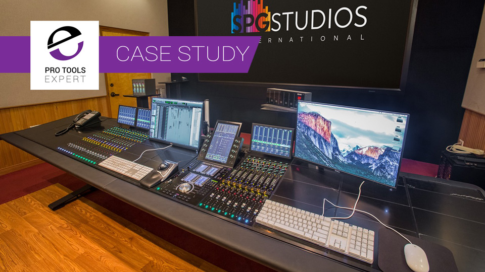 Case Study - SPG Studios Upgrades Mix Stage from System 5-MC to Avid S6 In 2 Phases