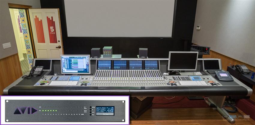 The System 5-MC, Avid MTRX and Eucon Integration