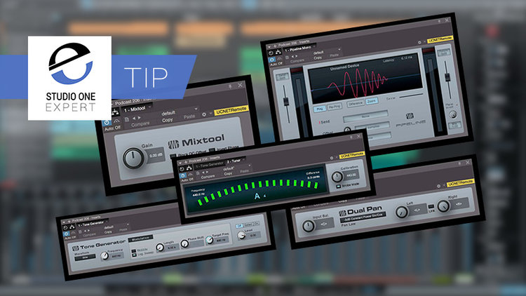 5 Studio One Plug-ins You Should Not Ignore | Studio One