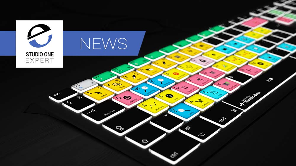 Editors Keys Backlit Studio One Keyboard
