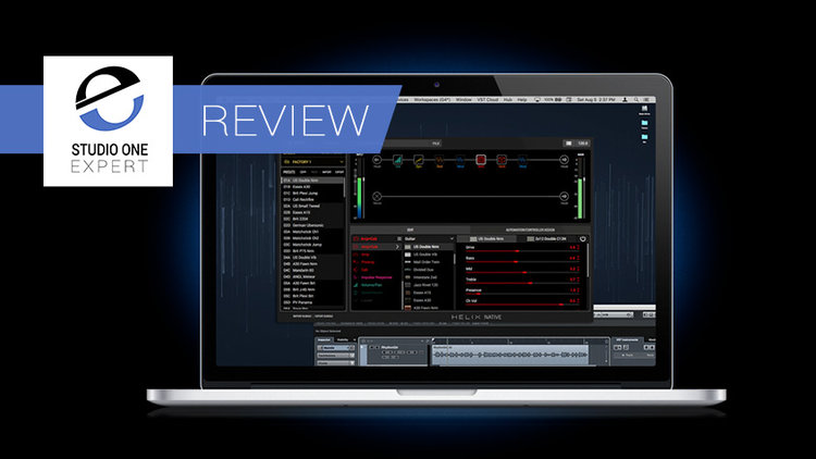 Review - Line 6 Helix Native Guitar Plug-in | Studio One