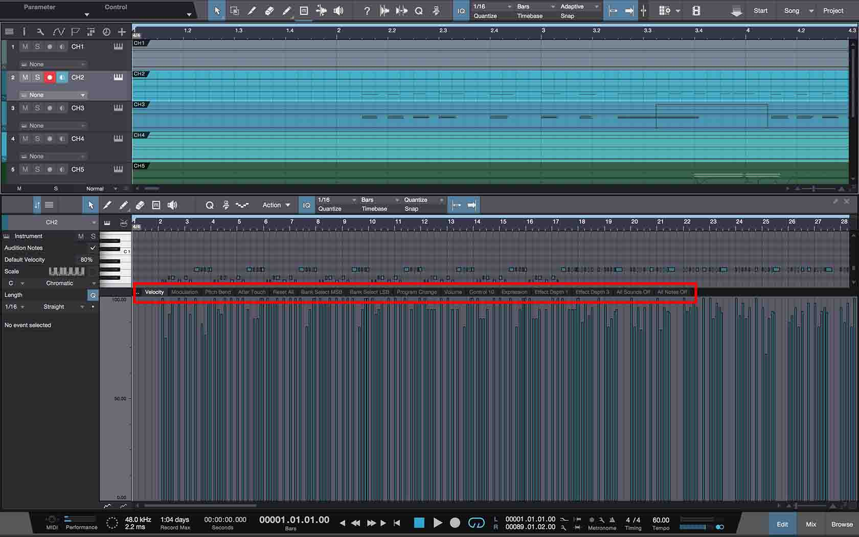 How To Export MIDI From Studio One To Standard MIDI Files