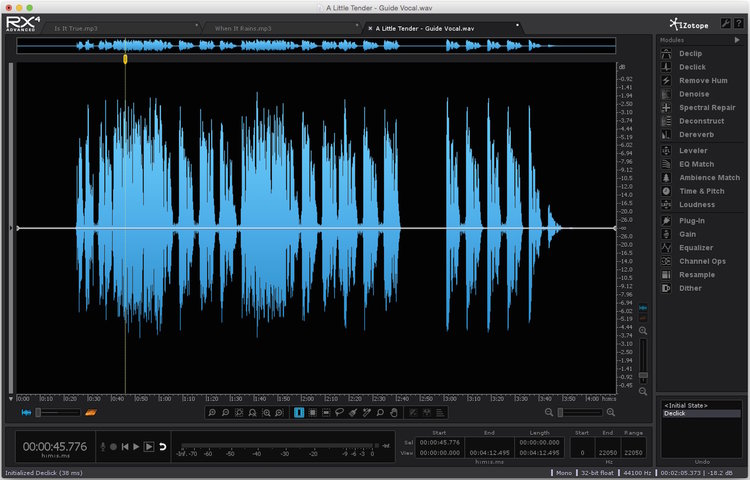 Remove Mouth Noise Using iZotope RX | Studio One