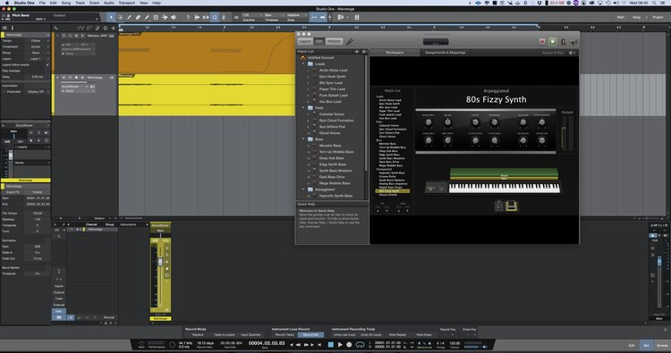 How To Use MainStage 3 And Alchemy In Studio One - Mac | Studio One