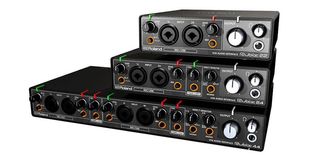 Roland Rubix Audio Interfaces