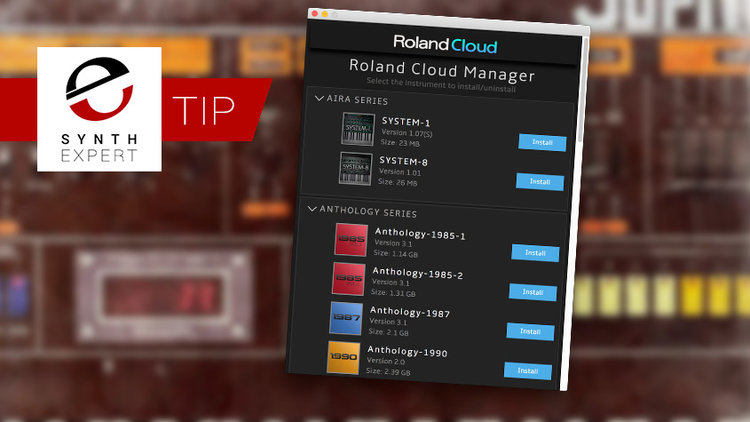 How To Move Your Roland Cloud Instruments To Another Drive - Mac