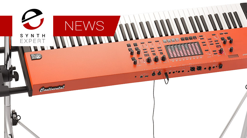 Korg Vox Continental Is a Do-It-All Stage Workhorse Cleverly