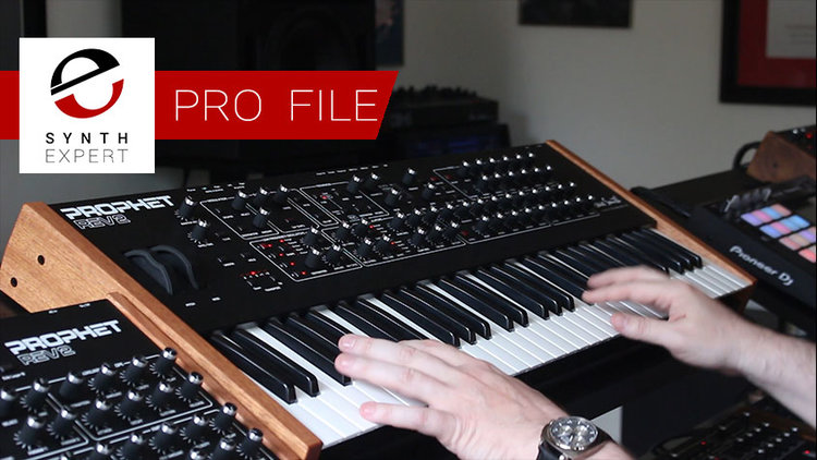 Dave Smith Part 2 of 3 - Fortner Plays the Prophet REV2 | Synth Expert