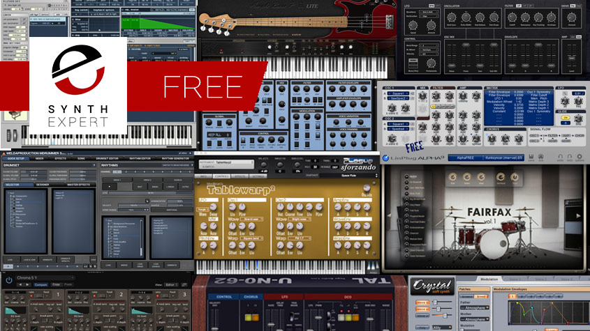Check Out Our Free Synth Plug-ins Page