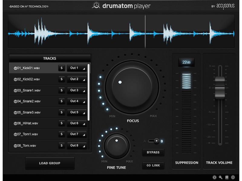 drumatom Player DAW Instrument