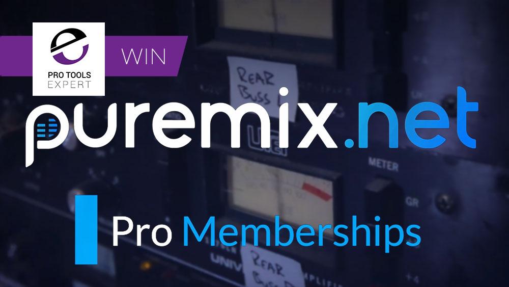 Puremix 3 year Win Banner