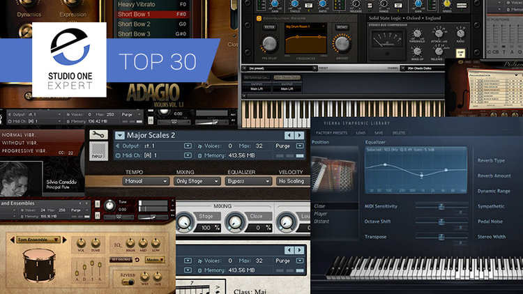 The 30 Best Sample Libraries For Orchestral Scoring | Studio One