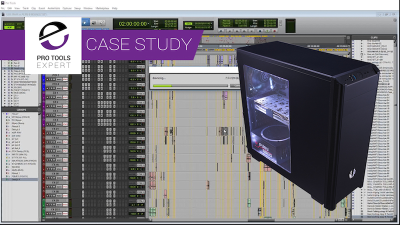 Case Study - Building A Low Cost Pro Tools Host Computer
