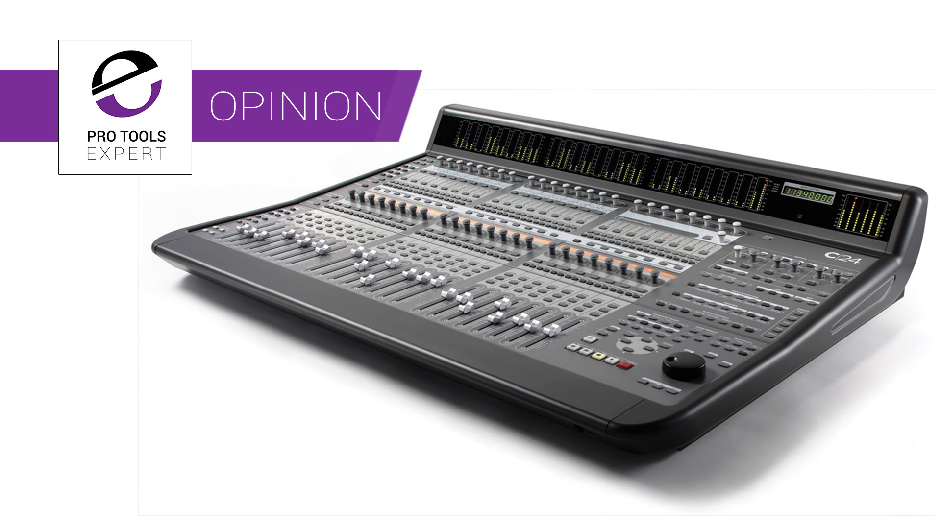 The C|24 Pro Tools Control Surface Is Ten Years Old This
