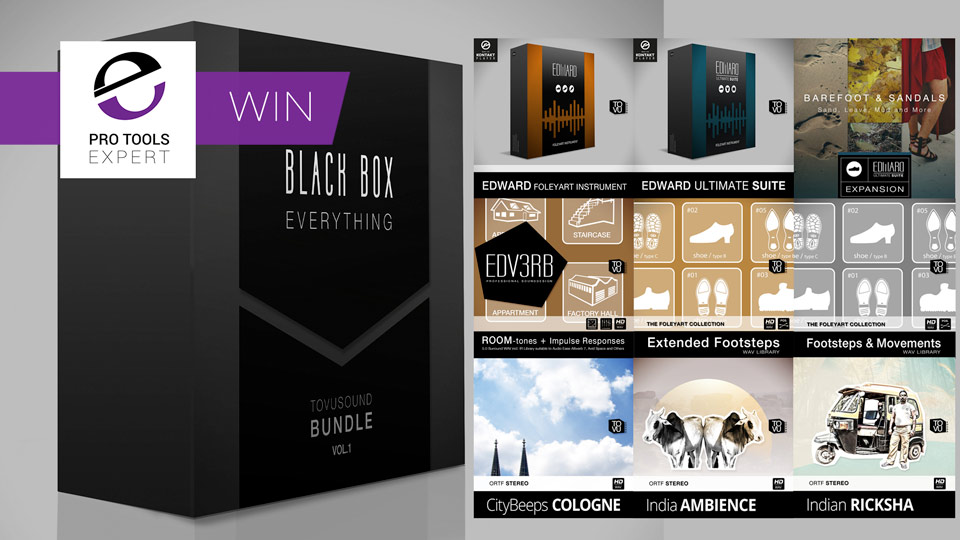 Win - Tovusound Black Box - Everything From Tovusound - Foley And Sound Effects Worth $842