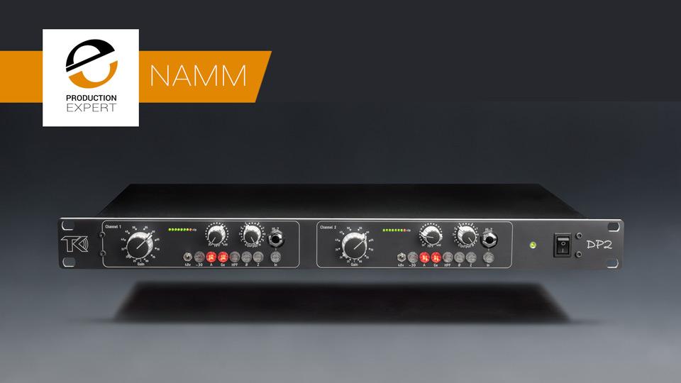 TK Audio Release DP-2 - A Dual Microphone Preamp