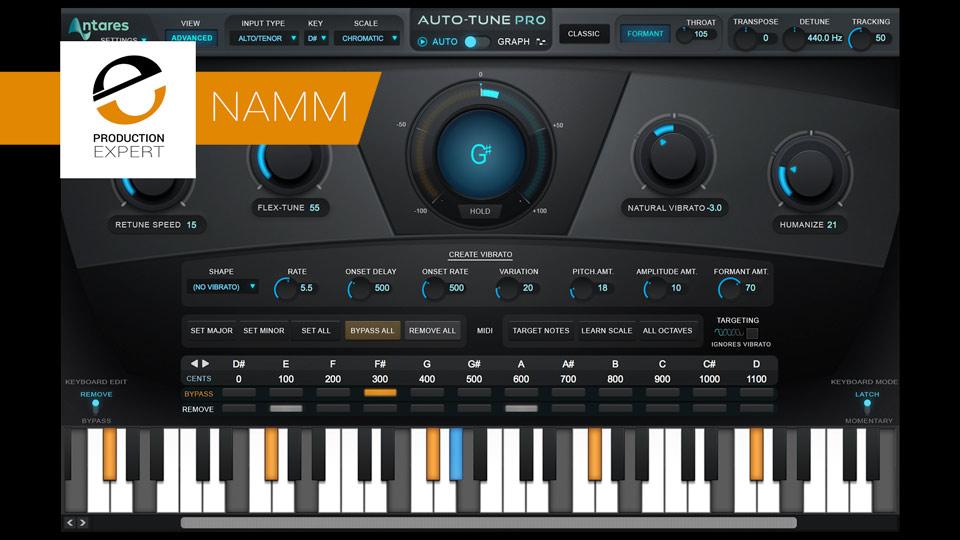 Antares Technologies Announces Auto-Tune Pro To Replace Auto-Tune 8