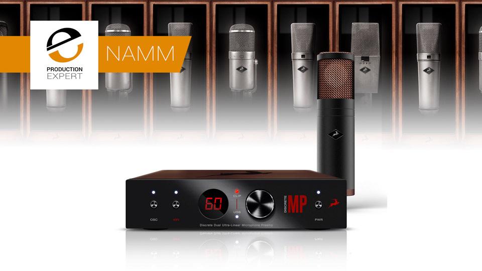 Antelope Audio Announces EDGE Strip Breakthrough Bundle At NAMM 2018