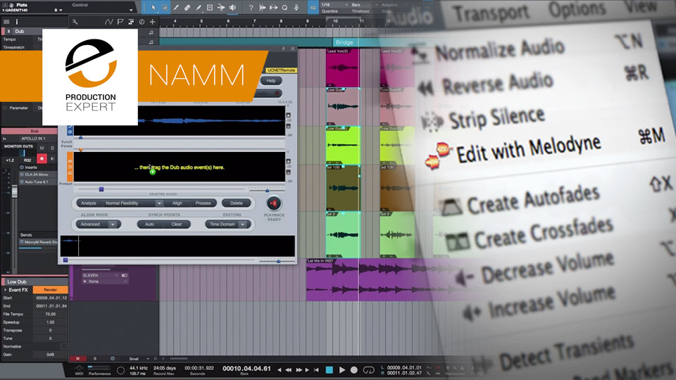 Celemony Announces ARA 2 - Plug-ins And DAWs To Work Even Closer