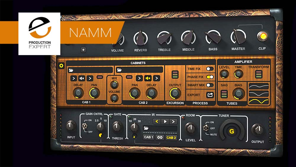 Waves Introduce PRS SuperModels Amp Sim Plug-in At NAMM 2018 | Pro Tools
