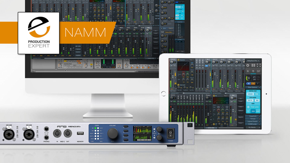 RME Announces TotalMix FX 1.50 And TotalMix Remote Software At NAMM 2018