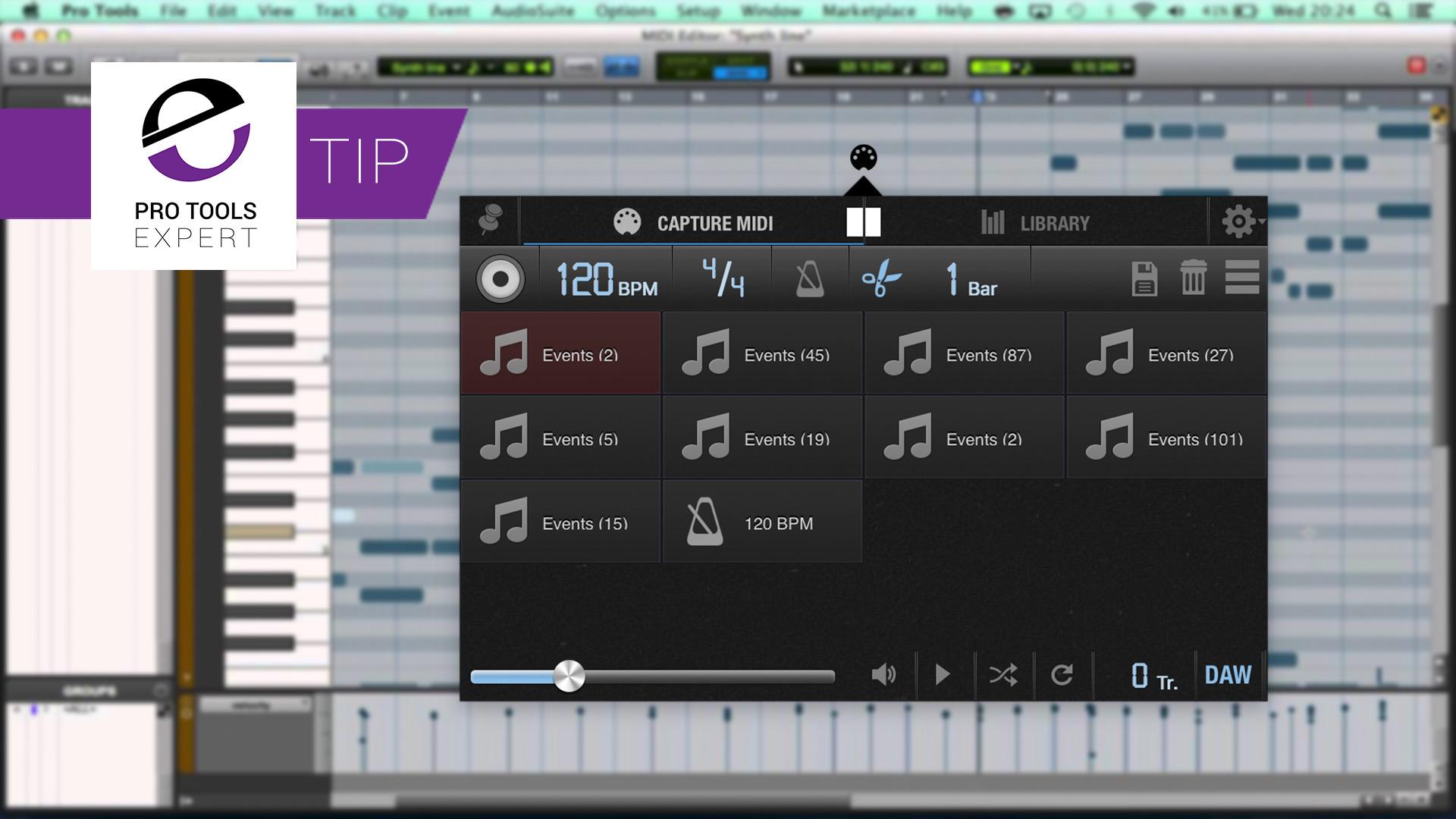 Get Retrospective MIDI Record In Any Version Of Pro Tools