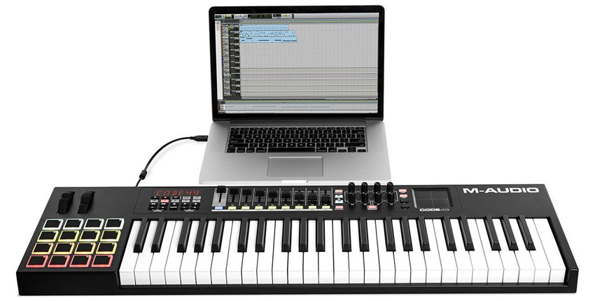 M-Audio Keyboard Controller And Pro Tools First