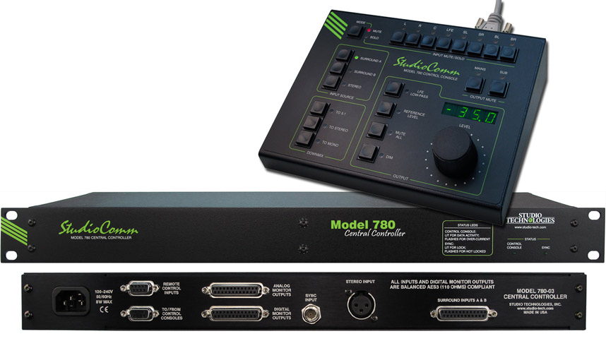 Studio Technologies Monitor Control System