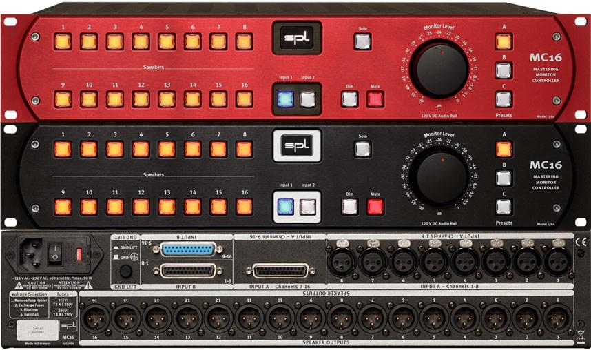 SPL MC16 Monitor Controller