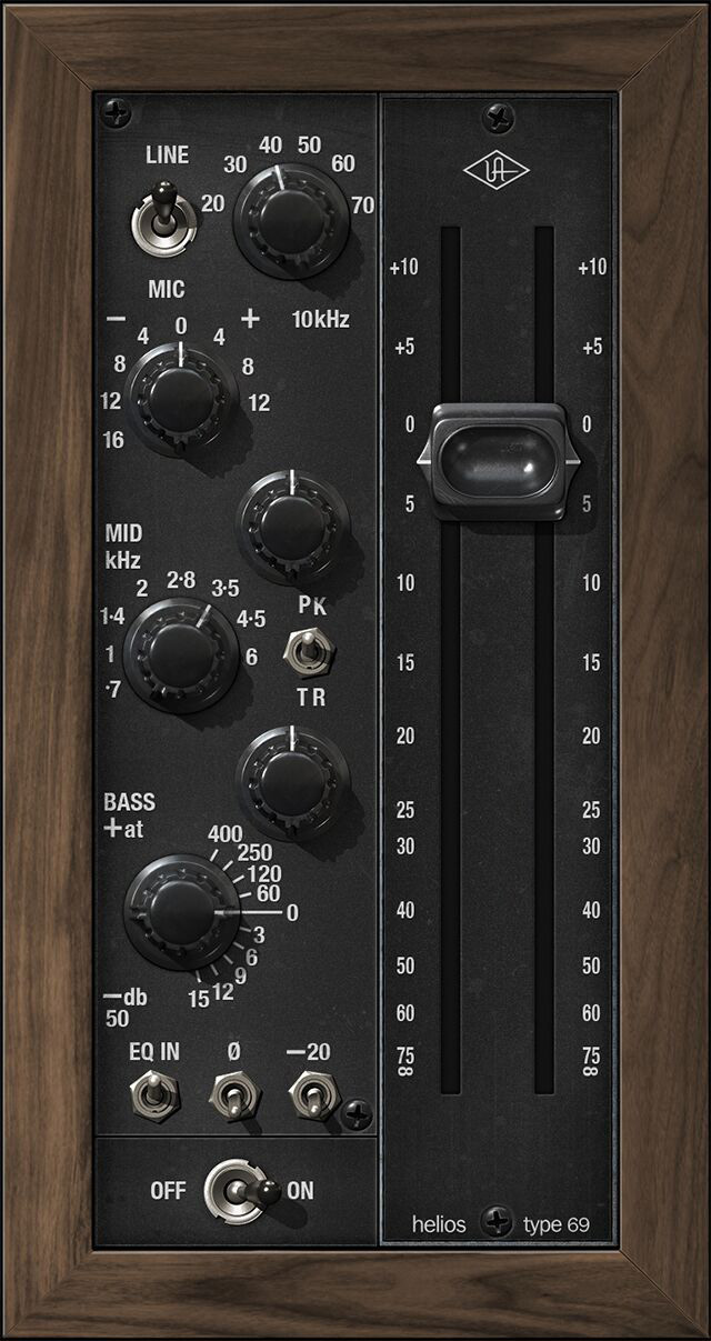 Helios Type 69 Preamp and EQ Collection