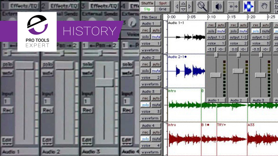 The History of Pro Tools - 1984 to 1993