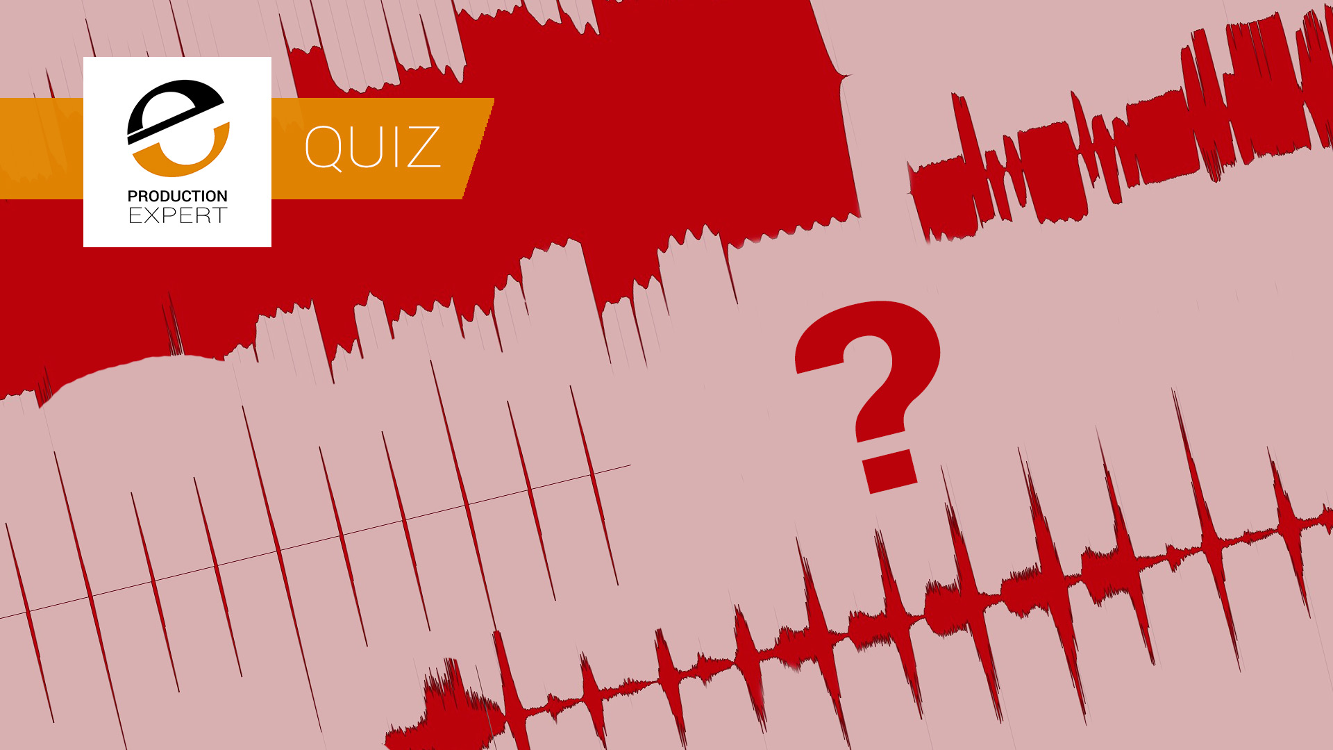 Quiz - Can You Identify Ten Instruments From Audio Waveforms? Volume