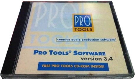 Pro tools v3.4 the first free version of Pro Tools