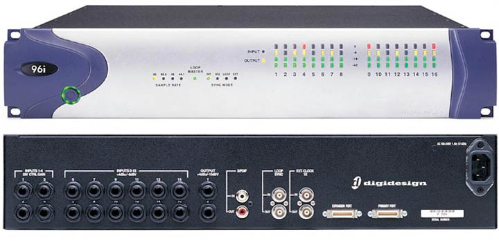 Digidesign 96i I/O Interface