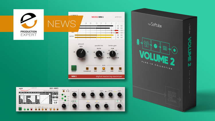 Softube Announce Volume 2 & Two New Weiss Mastering