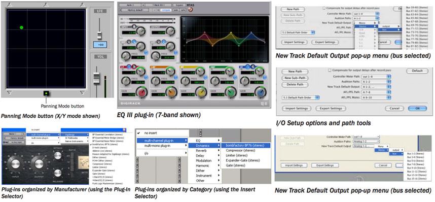 Digidesign Pro Tools 6.9 Features