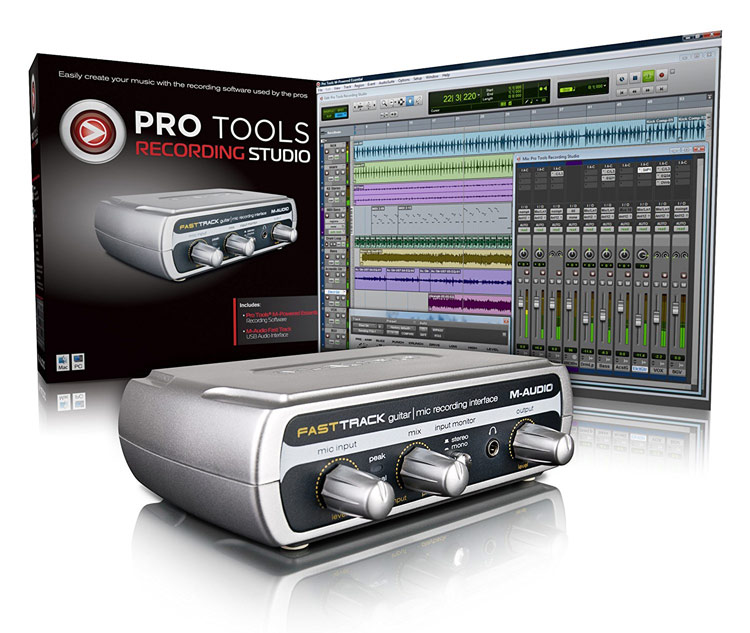 Pro Tools Recording Studio With M-Powered Pro Tools Essentials Software