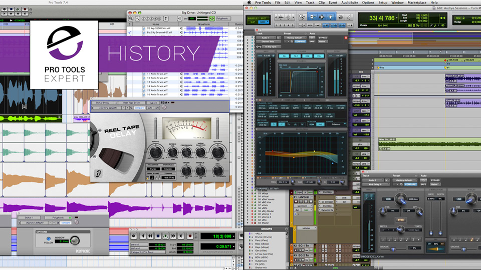 The History of Pro Tools - 2007 to 2012