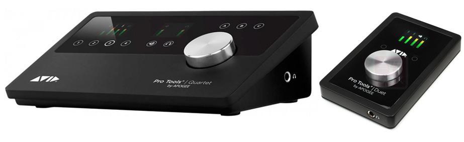 Avid Pro Tools Duet and Pro Tools Quartet Interfaces