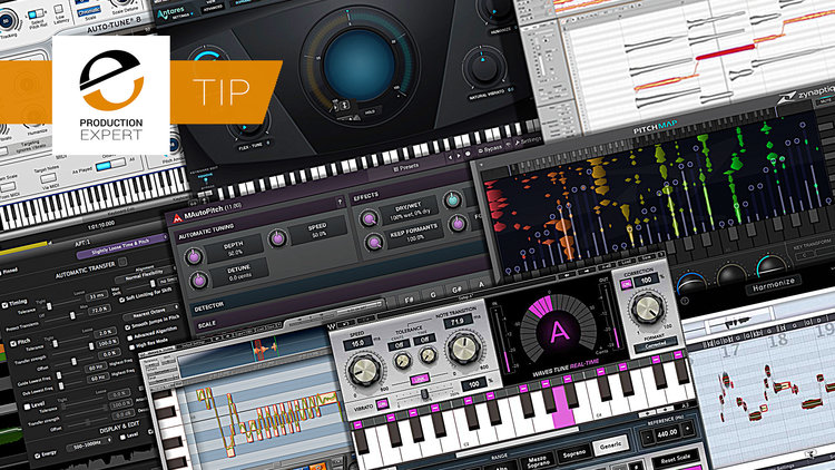Our Top 10 List Of Tuning & Pitch Correction Plug-ins You Should
