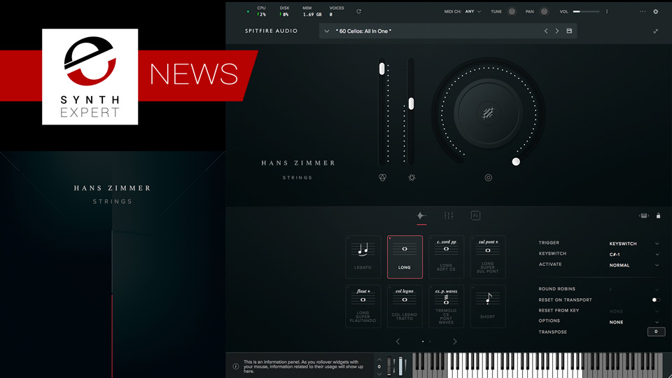 Spitfire Audio Release Hans Zimmer Strings Sampling Library