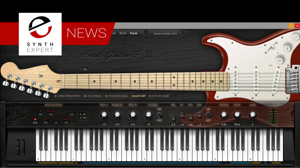 Ample Sound Release AGF Funk Extension and updates AGF to V2.55