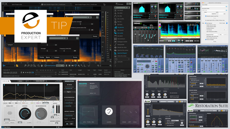 Our Top 7 List Of Audio Restoration Software You Should Try To Clean Up Your Audio